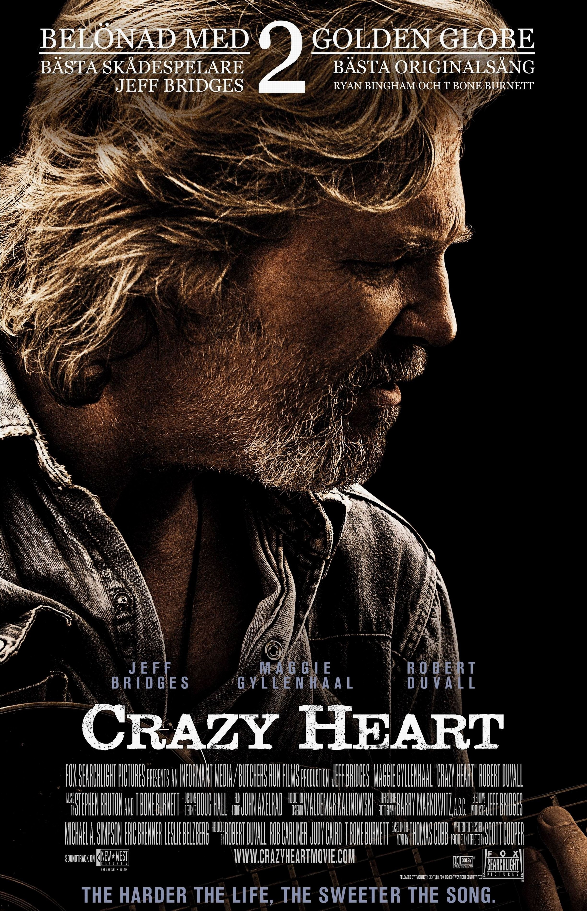 Where is crazy heart movie playing